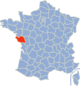 Position de la Vendée en France