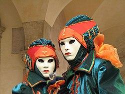 M  Scaras En El Carnaval De Venecia