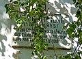Veres Pálné plaque (Balassagyarmat Május 1 u 19).jpg