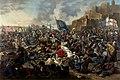 Verteidigung der Burg von Belgrad durch Johann Hunyadi 1456.jpg