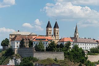 Veszprém City with county rights in Central Transdanubia, Hungary