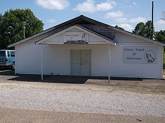 Dundee, Mississippi - Image: Victory Temple Of Deliverance Church