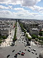 View from Arc de Triomphe 25 2012-07-02.jpg