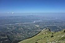 View from Tomorr to Berat and Shpirag mountain - Mapillary (W1Rjv3PGJO0IeRYu4zjERw).jpg