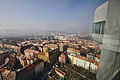 View from the observation deck of Žižkov Television Tower, 2014-03-09.jpg
