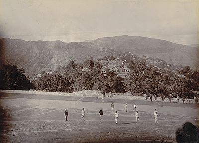 View of Almora, with soldiers of 3rd Gurkha Rifles, 1895. View of Almora, with soldiers of 3rd Gurkha, 1895.jpg