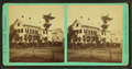 View of Residence, Great Falls, N.H, by E. J. Deland.png