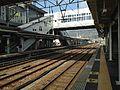 View of Sasebo Line from platform 4 of Haiki Station (North).JPG