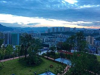 Wanzhou District - Image: View of Wanzhou