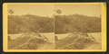 View of log bridge at Quarles' Mill, North Anna, where a portion of the 5th Corps under Gen. Warren had to cross and carry the enemy's line of works on the crest of the hill, by O'Sullivan, Timothy H., 1840-1882.png