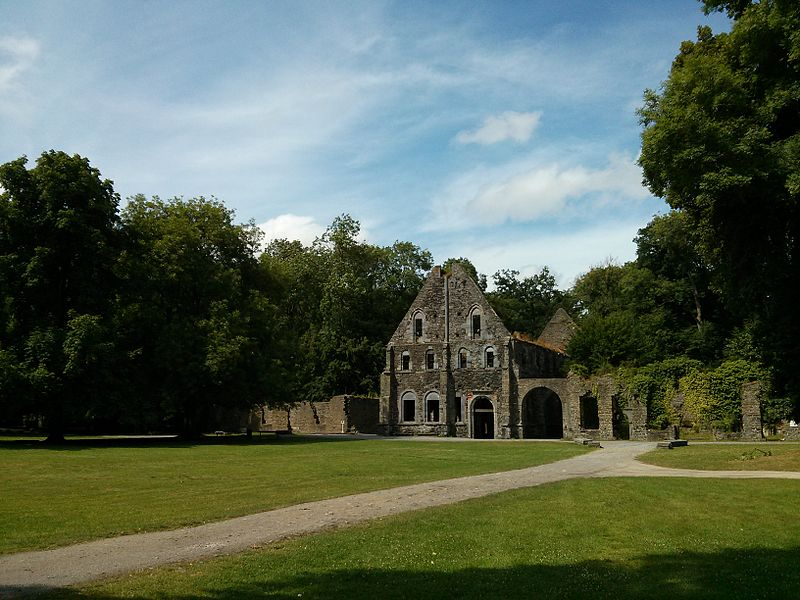 View of the workshops of the Villlers abbey
