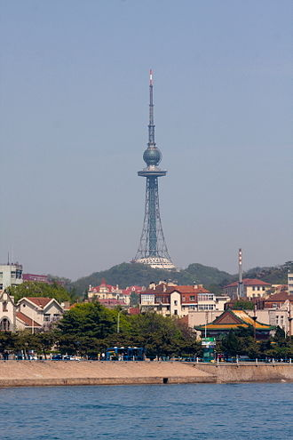 Qingdao - Qingdao TV Tower
