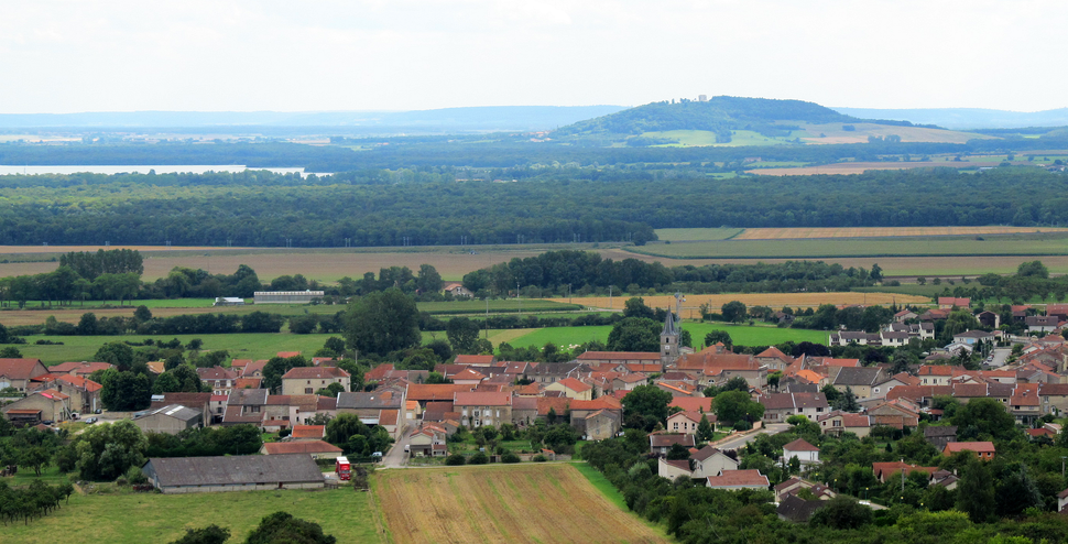 Vigneulles from Hattonchâtel