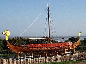 Hugin (longship) - Image: Viking Longboat 'Hugin', Ramsgate geograph.org.uk 653079