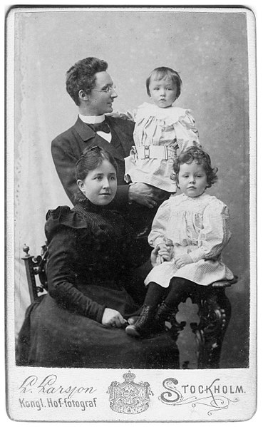 File:Vilhelm Bjerknes family.jpg