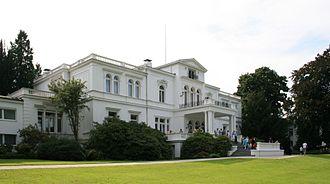 Hammerschmidt Villa - Rear view of Villa Hammerschmidt