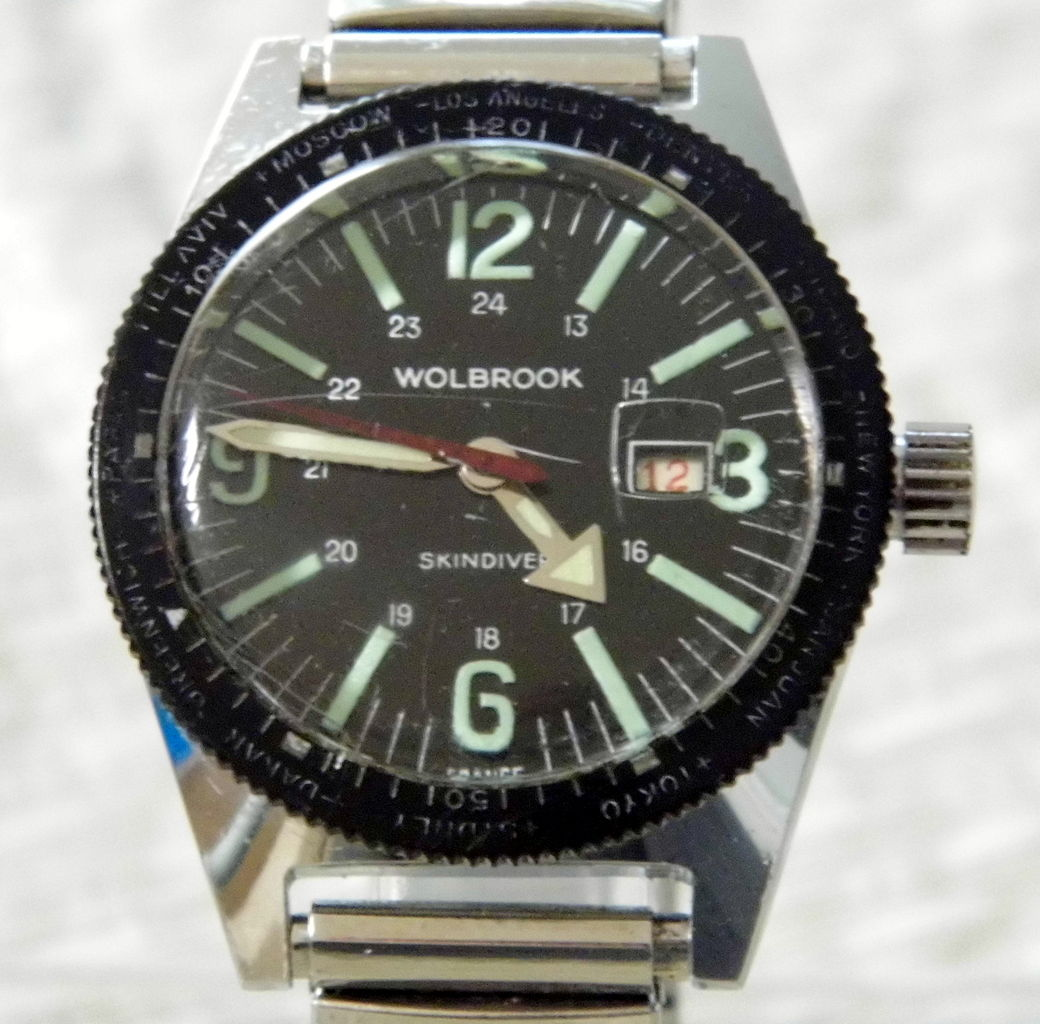 File vintage wolbrook skindiver manual wind watch made in france 9722651939 jpg wikimedia for Watches of france