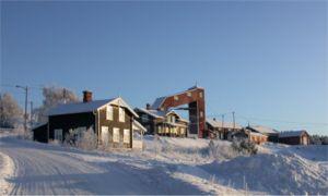 Folldal -  Winter in Folldal. Image courtesy of the Foundation Folldal Mines
