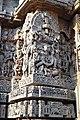 Vishnu in Varaha Avathara Hoysaleswara Temple Halebid.jpg