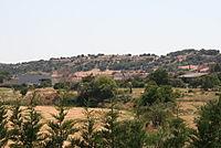 Vista de Peleagonzalo desde el hotel Valbusenda - 2013-Aug-20 - by Stromare.JPG
