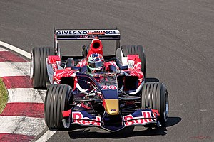 Vitantonio Liuzzi - Liuzzi driving the Toro Rosso STR1 during the 2006 Canadian Grand Prix