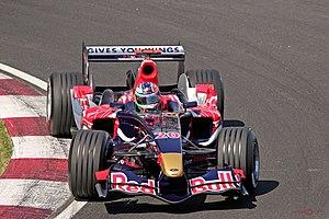 Vitantonio Liuzzi driving for Scuderia Toro Ro...