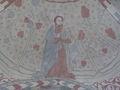 Vittskövle kyrka, valvmålning i tredje valvet 3.jpg