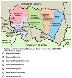 Vojvodstvo srbija okruzi 1850 01.png