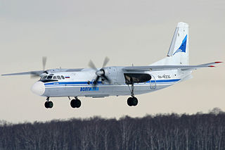 Antonov An-24 Airliner and military transport aircraft family by Antonov