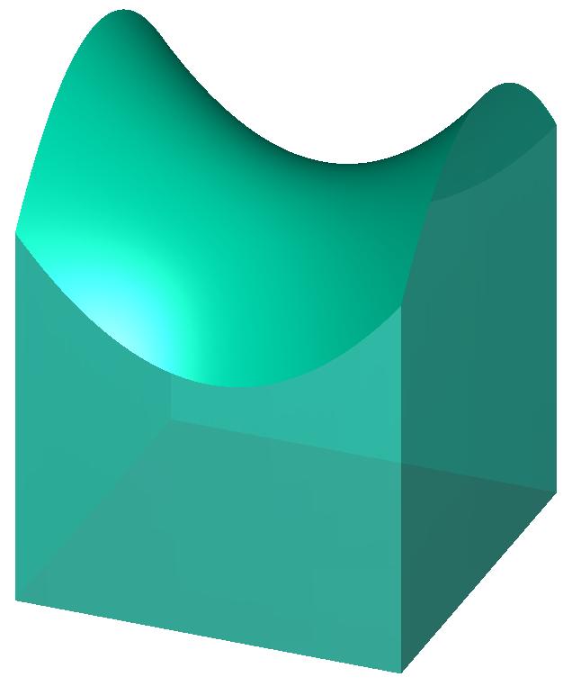 Volume under surface