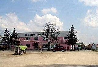 Vrbovec Town in Zagreb, Croatia
