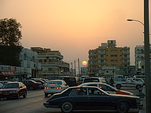Salalah - Street in Salalah in the early 2000s