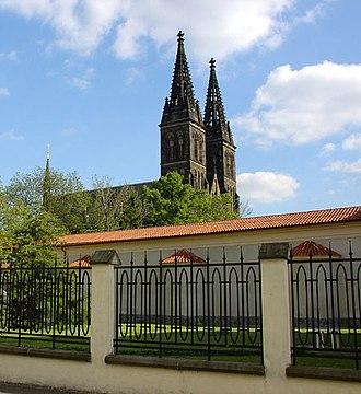 Vyšehrad - Image: Vyšehrad kostel 4