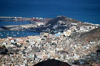 Alto Miramar Neighbourhood in Mindelo, São Vicente Island, Cape Verde