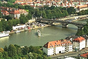 The Main in Würzburg.