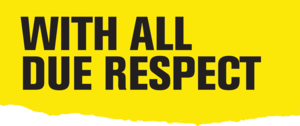 With All Due Respect (TV series) - Image: WADR Logo