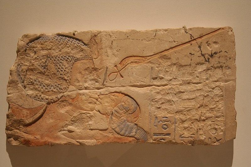 File:WLA brooklynmuseum Relief of Nefertiti Kissing one of her daughters.jpg