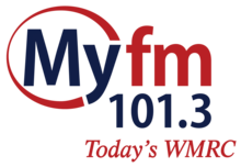 WMRC (MyFM 101.3) Logo (As Of January 2017).png