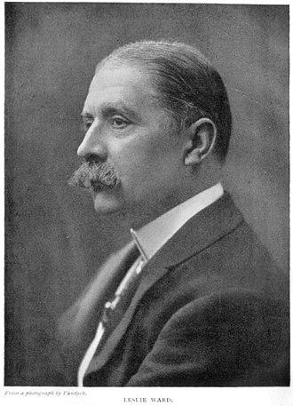 Leslie Ward - Sir Leslie Ward in 1915