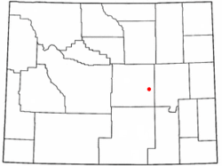Location of Brookhurst, Wyoming