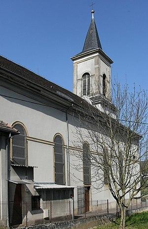 Walheim, Haut-Rhin - Image: Walheim, Eglise Saint Martin 1
