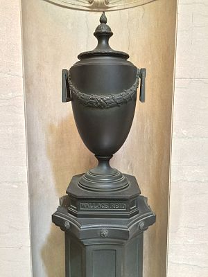 Wallace Reid - The urn of Wallace Reid, in the Great Mausoleum Forest Lawn Glendale.
