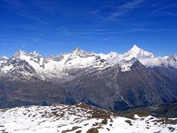 Le Alpi del Vallese