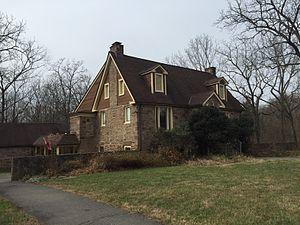 Chantilly, Virginia - The Walney Visitor Center at Ellanor C. Lawrence Park