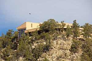 Walnut Canyon National Monument - The Visitor Center