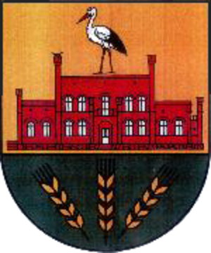 Löbnitz, Mecklenburg-Vorpommern - Image: Wappen Loebnitz (Vorpommern)