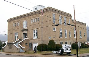 National Register of Historic Places listings in Wetzel County, West Virginia - Image: War Memorial Building