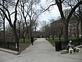 Washington Square Park Southeast entrance, Chicago.JPG