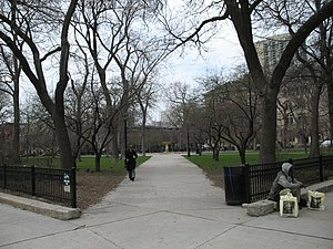 Washington Square Park (Chicago) - Washington Square Park Southeast entrance