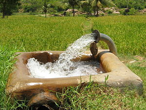 Fresh water supply in india